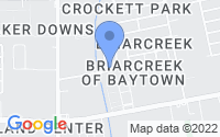 Map of Baytown TX