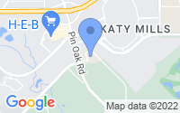 Map of Katy TX