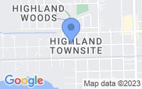 Map of Highlands TX
