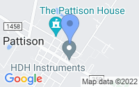 Map of Pattison TX