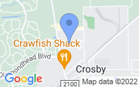 Map of Crosby TX