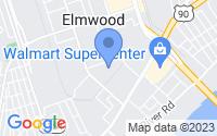 Map of Elmwood LA
