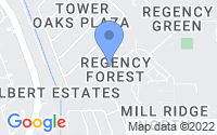Map of Cypress TX