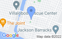 Map of New Orleans LA
