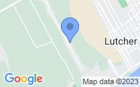 Map of Paulina LA