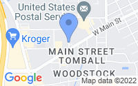 Map of Tomball TX