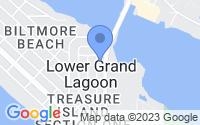 Map of Panama City Beach FL