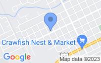 Map of Crowley LA