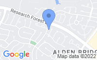 Map of The Woodlands TX