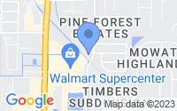 Map of Lynn Haven FL