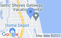 Map of Jacksonville Beach FL