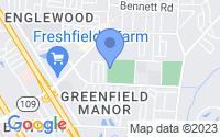 Map of Jacksonville FL