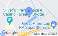 Map of Breaux Bridge LA
