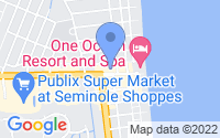 Map of Neptune Beach FL