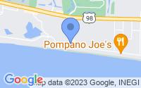 Map of Destin FL