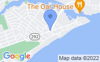 Map of Pensacola FL