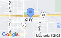 Map of Foley AL