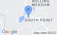 Map of Denham Springs LA
