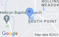Map of Denham Springs LA