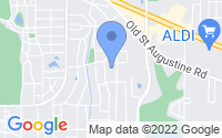 Map of Tallahassee FL