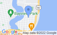 Map of Pensacola FL