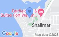 Map of Shalimar FL