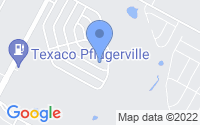 Map of Pflugerville TX