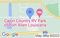Map of Port Allen LA