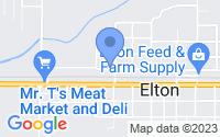 Map of Elton LA