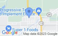 Map of Eunice LA