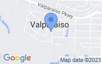 Map of Valparaiso FL