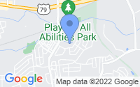Map of Round Rock TX