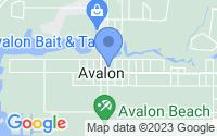Map of Milton FL