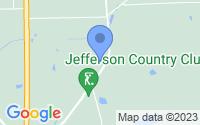 Map of Monticello FL