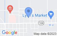 Map of Mamou LA