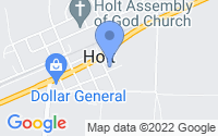 Map of Holt FL