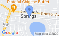 Map of DeFuniak Springs FL
