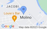 Map of Molino FL