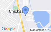 Map of Chickasaw AL