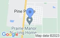 Map of Pine Prairie LA