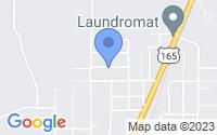 Map of Oakdale LA
