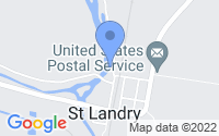 Map of Saint Landry LA
