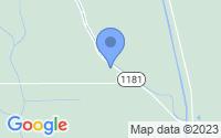 Map of Plaucheville LA