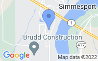 Map of Simmesport LA
