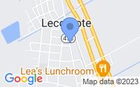 Map of Lecompte LA
