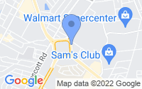 Map of Alexandria LA