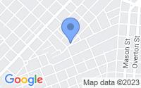 Map of Alexandria LA