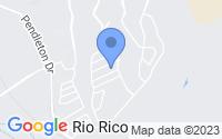 Map of Rio Rico AZ