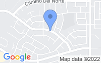 Map of Sierra Vista AZ