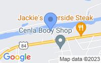 Map of Jonesville LA